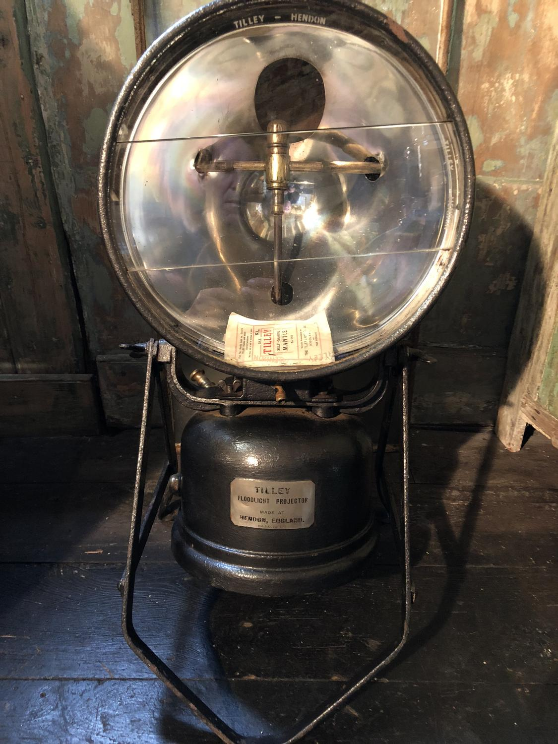 WW2 Tilley Lamp for temporary aircraft landing strip