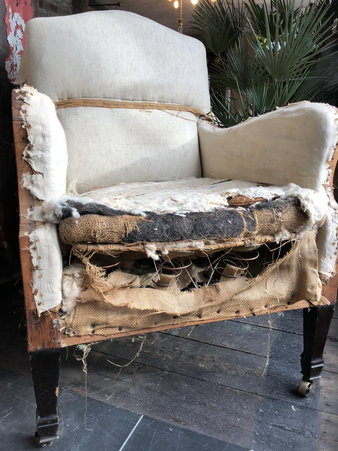 Regency Library Chair for restoration/decoration