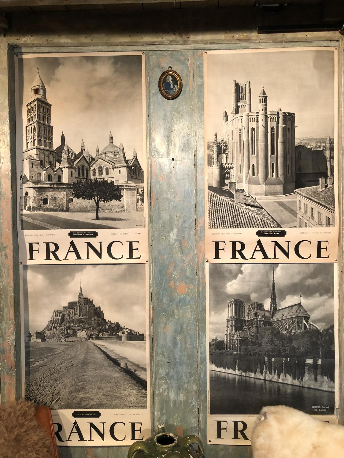 A selection of mid 20th Century French Tourist Posters