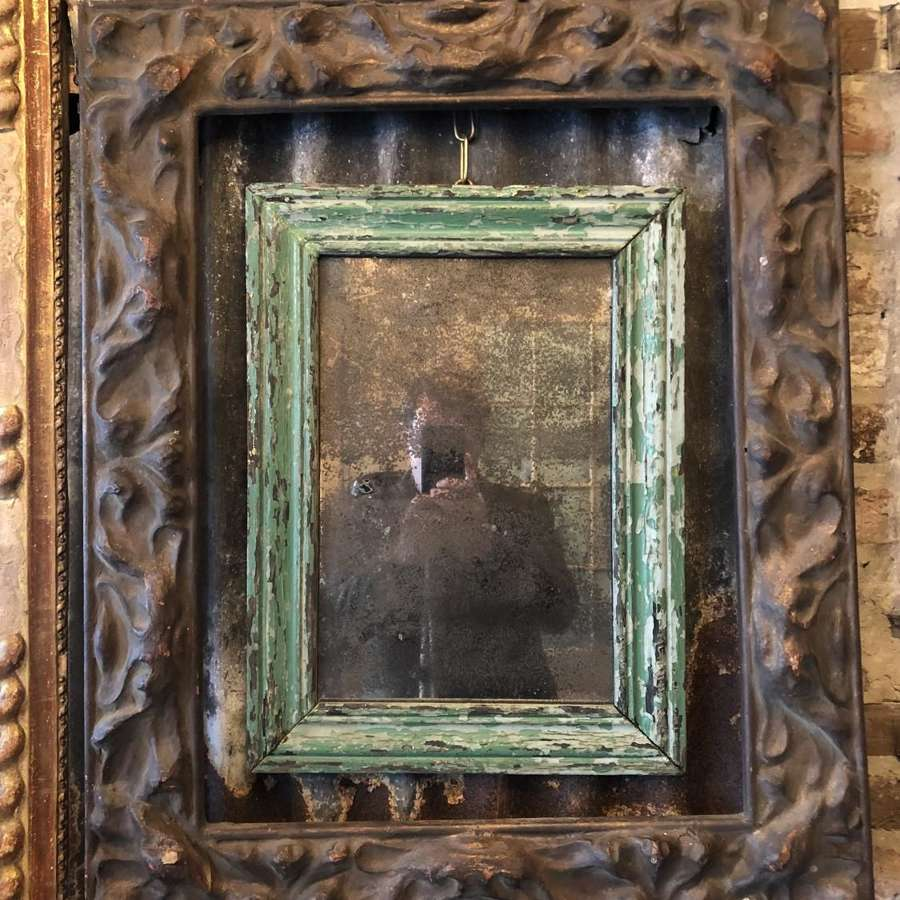 V rare late 17th/early 18th C Papier Maché picture frame